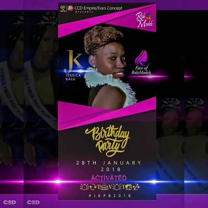 Jassica Kalu Birthday Party 2018