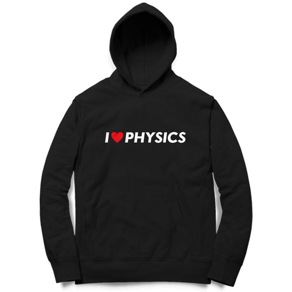 i love physics black