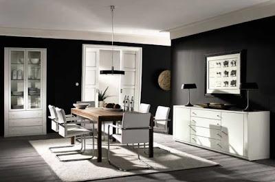 pintura en tonos negros y grises da elegancia y no pasa de moda