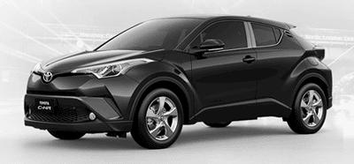 Toyota CHR Black Mica
