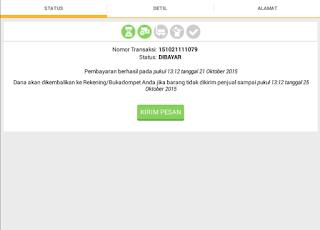 detail transaksi di aplikasi aplikasi bukalapak untuk belanja mudah