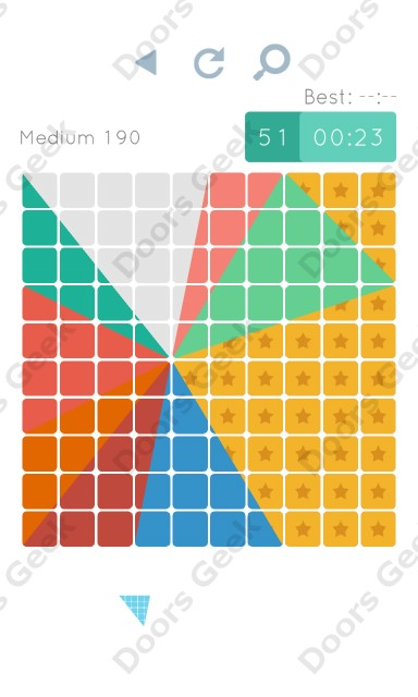 Cheats, Walkthrough for Blocks and Shapes Medium Level 190