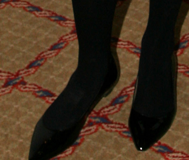 Celebrity Legs And Feet In Tights: Ivanka Trump`s Legs And
