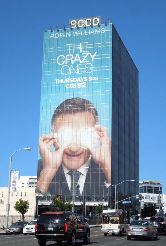 Giant The Crazy Ones billboard
