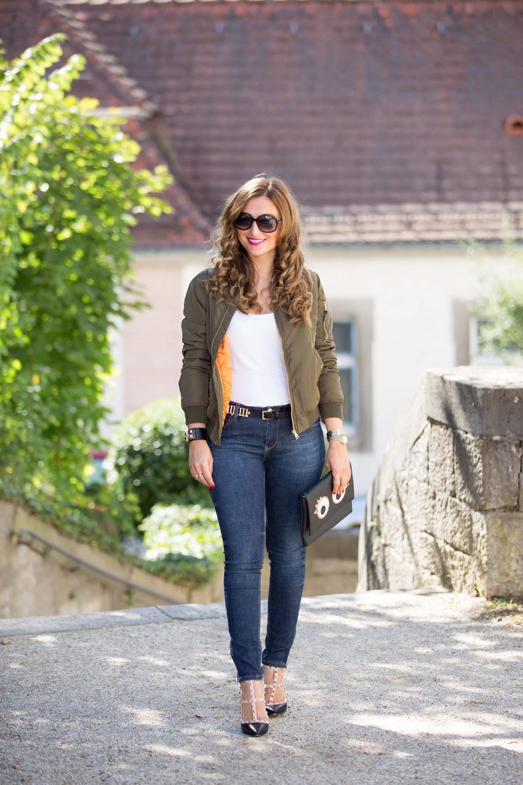 Streetstyleblogger - fashionstylebyjohanna - valentino rockstud lookalike