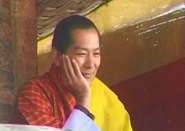 Photo of His Majesty the Fourth King of Bhutan. Image courtesy: Kelly Dorji's Facebook page