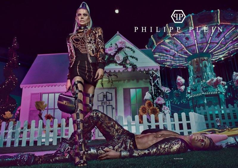 Fergie : Philipp Plein - Printemps/Été 2017 par Steven Klein