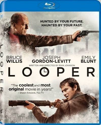 Looper 2012 BRRip 720p Dual Audio Hindi Dubbed 800MB