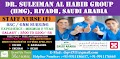 INTERVIEW FOR STAFF NURSES FOR DR. SULEIMAN AL HABIB GROUP (HMG), RIYADH, SAUDI