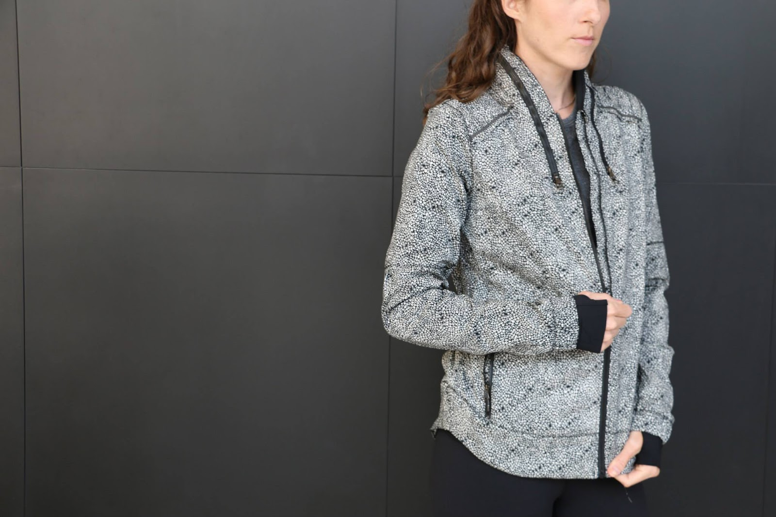 lululemon plush petal spring forward jacket