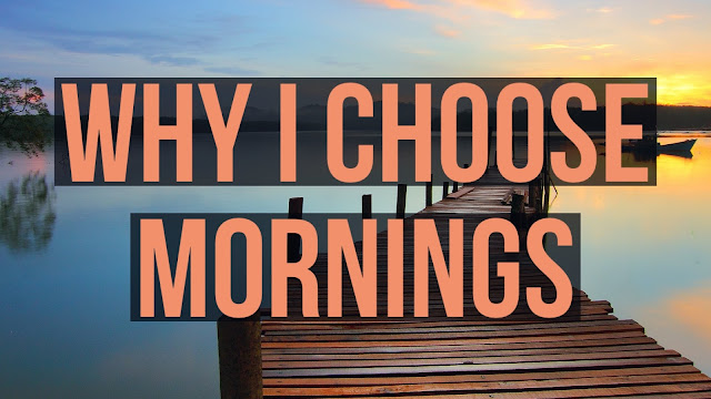 why devotions in the morning