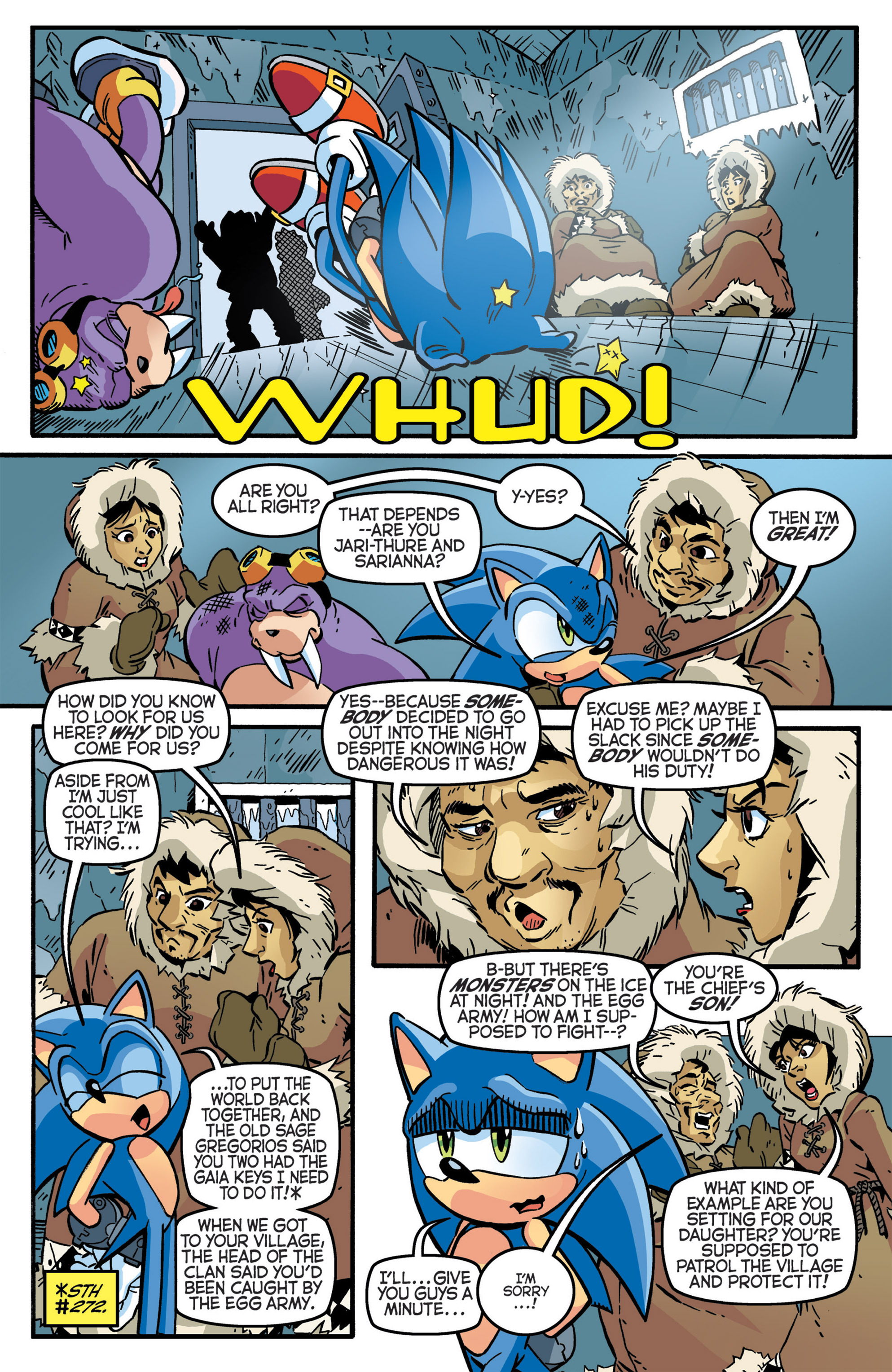 Read online Sonic The Hedgehog comic -  Issue #276 - 7