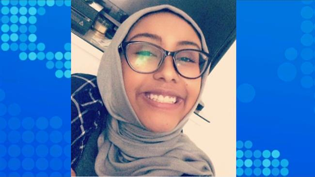 Muslim girl abducted, murdered outside a mosque in the US state of Virginia