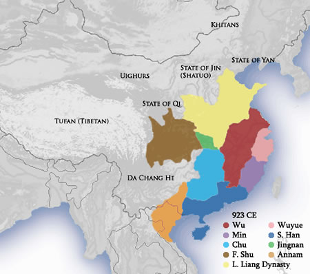Five Dynasties of China