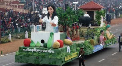 Top Tableau in Republic Day