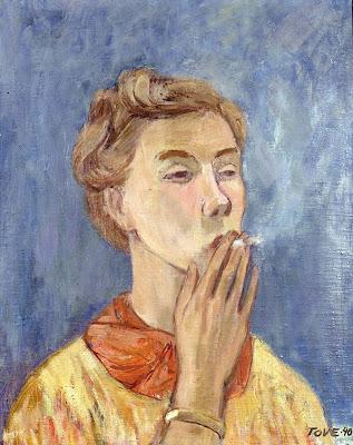 Autoportrait 1940, Tove Jansson