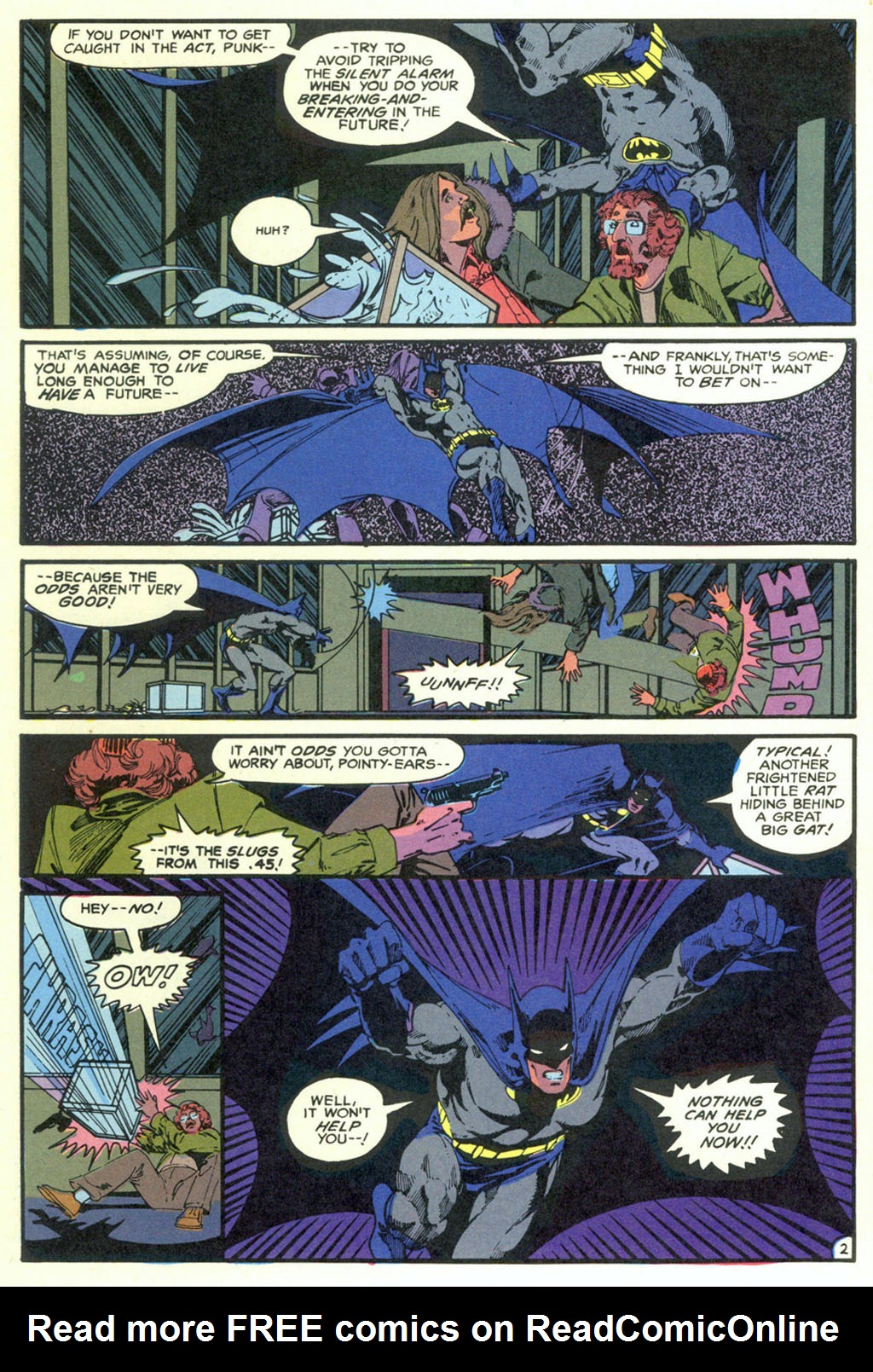 Read online Shadow of the Batman comic -  Issue #5 - 5
