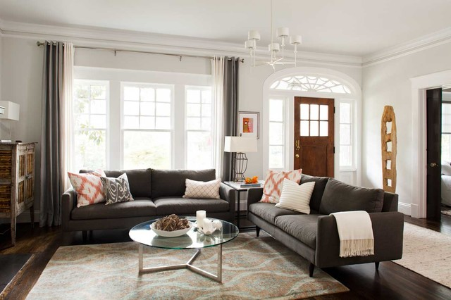 Decorate Your Living Room With Two Sofas