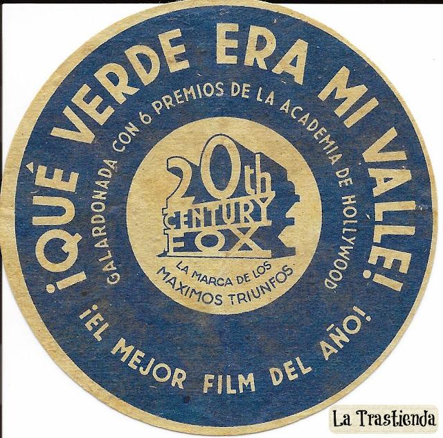 Programa de Cine - ¡Qué Verde era mi Valle! (Troquelado) - Maureen O'Hara - Walter Pidgeon