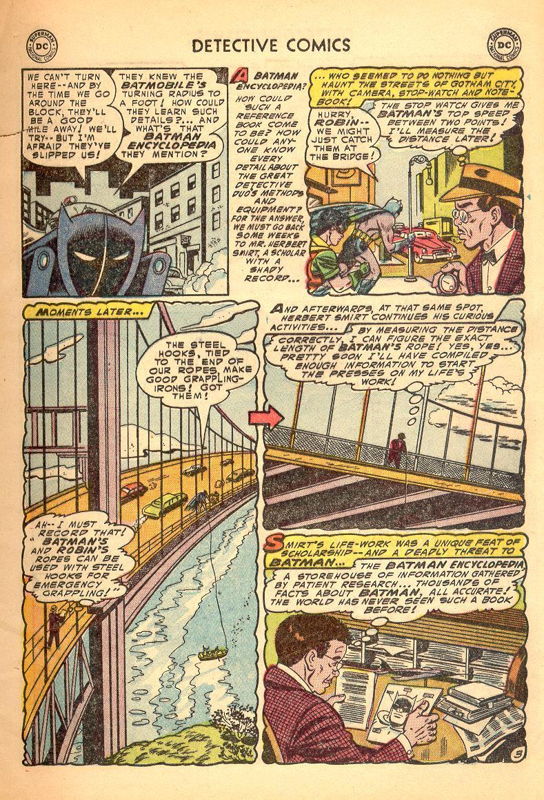 Read online Detective Comics (1937) comic -  Issue #214 - 5