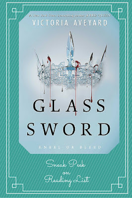 Glass Sword by Victoria Aveyard a Sneak Peek on Reading List