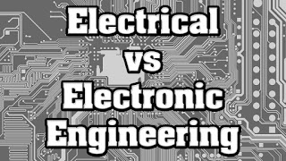 difference between electrical and electronics, main difference between electronics and electrical