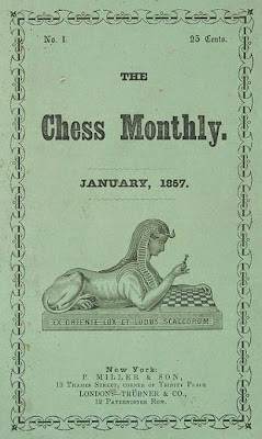 Número uno de la revista Chess Monthly