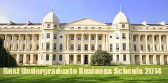 Best Undergraduate Business Schools 2014 image picture