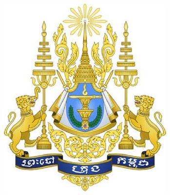 Gajah dan Singa sebagai Lambang Negara Kamboja - berbagaireviews.com