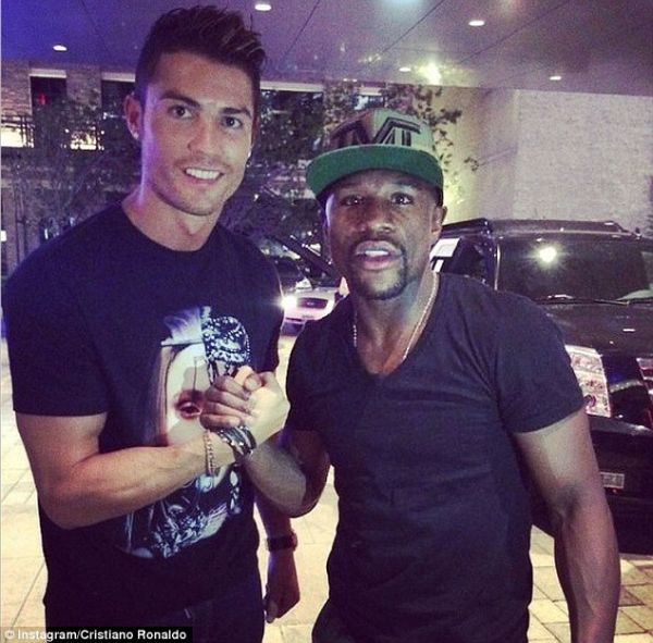 Big Spender!! Floyd Mayweather Names The Premier League Club He Wants To Buy, Vows To Sign Ronaldo For The Club