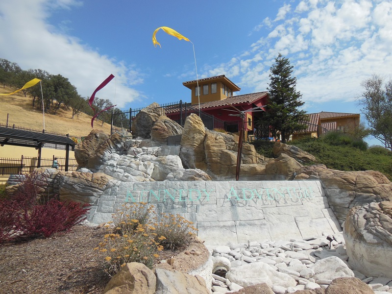 Drought Is Over, and the Kennedy Waterfall In Paso Robles Is Back