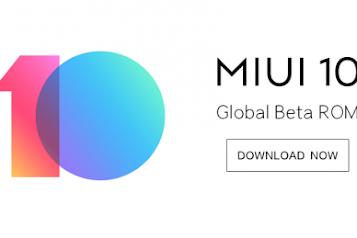 Cara UPDATE MIUI 10 Global Beta ROM 8.10.11 : Full Changelog & Download Links