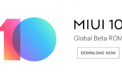 Cara update MIUI 10 Global Beta ROM 8.11.1 : Full Changelog & Download Links