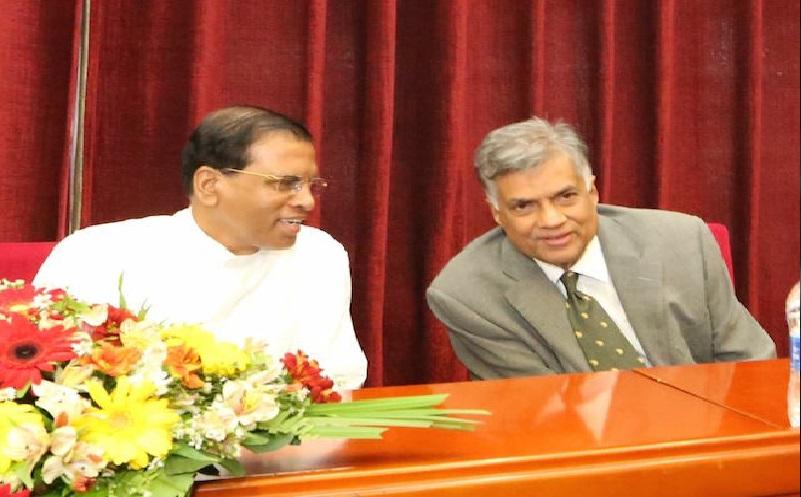 Sirisena Meets Ranil: Hastily Arranged Meeting To Placate India