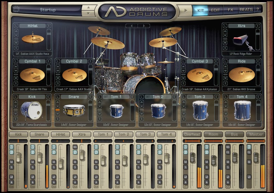 addictive drum