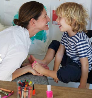 Straight Parent Gay Kid J Crew Executive Mom Paints Son