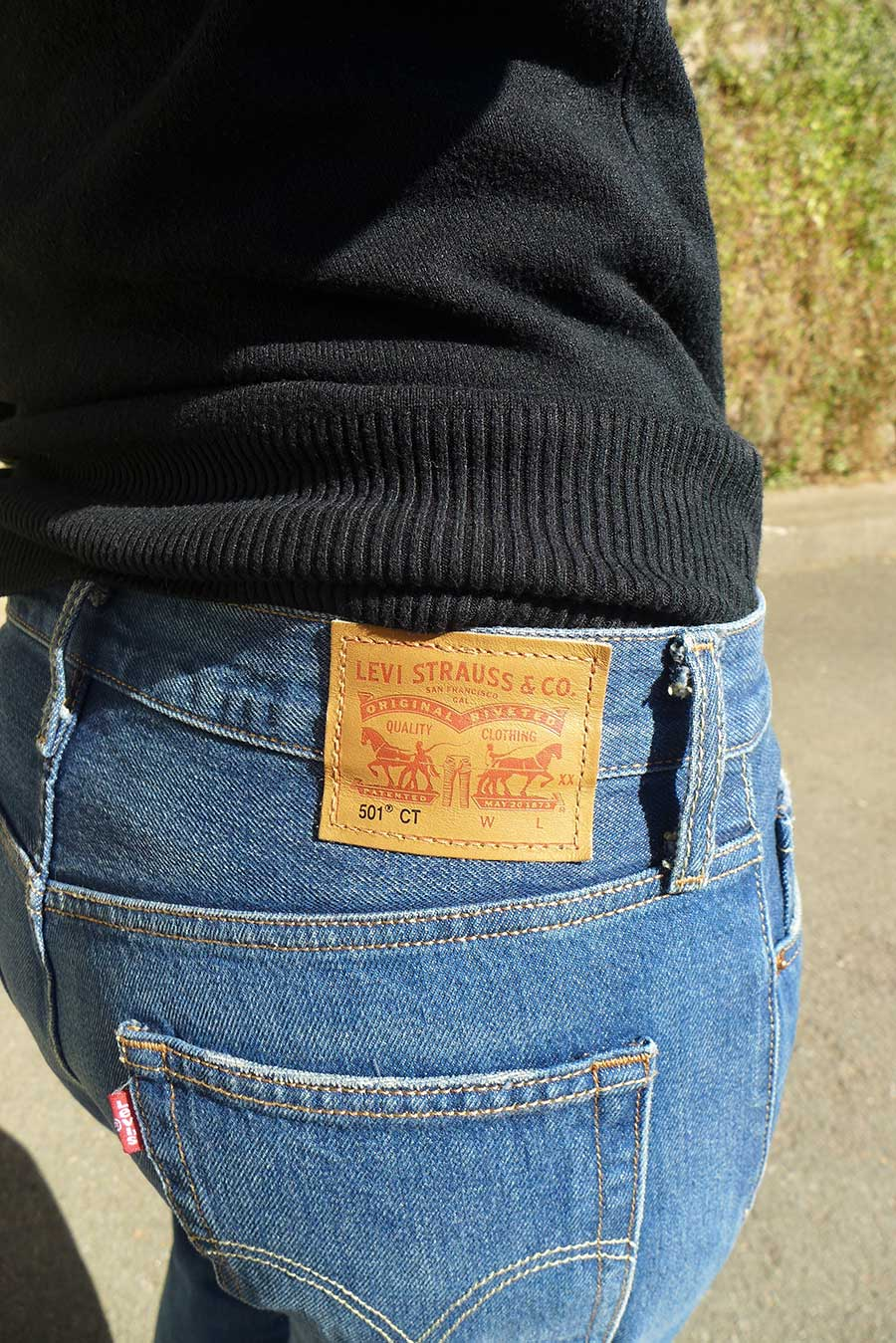 levi strauss & co 501 CT for women