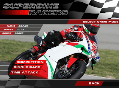 Game Super Bike Racer - balap motor