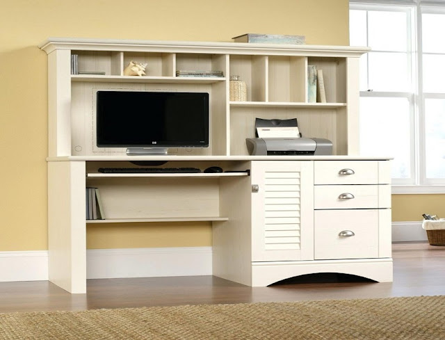 best buy white small home office furniture Worcester for sale