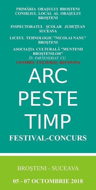 """Fotografii de la Festivalul de folclor """"Arc peste timp"""" - Broșteni 5-7 0ctombrie 2018"""