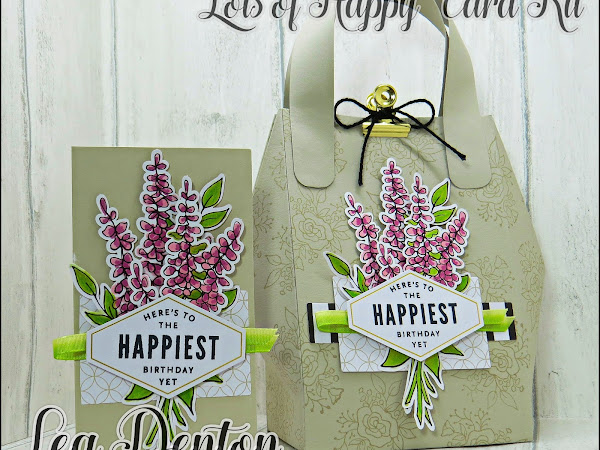 Stampin' Up! Boxes and Bags 2018 Blog Hop