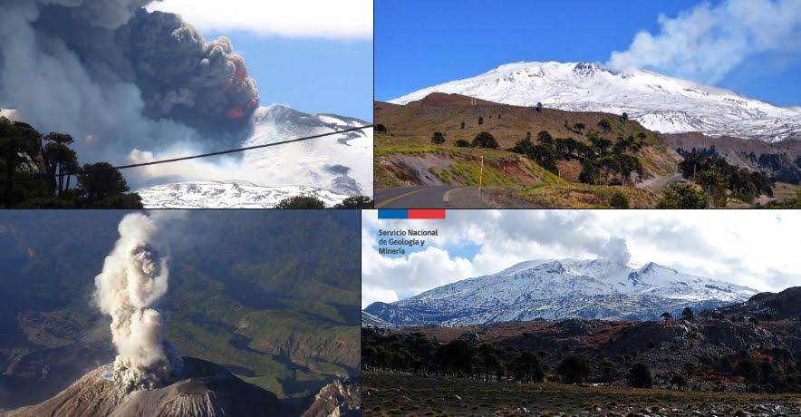 Allarme giallo per l'attività del Vulcano Copahue in Cile, al confine con Argentina.