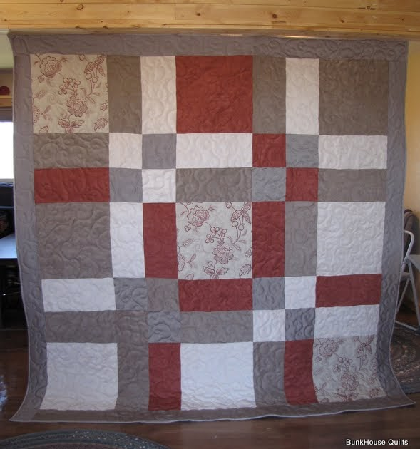Quilting In The Bunkhouse Ultra Suede Quilt
