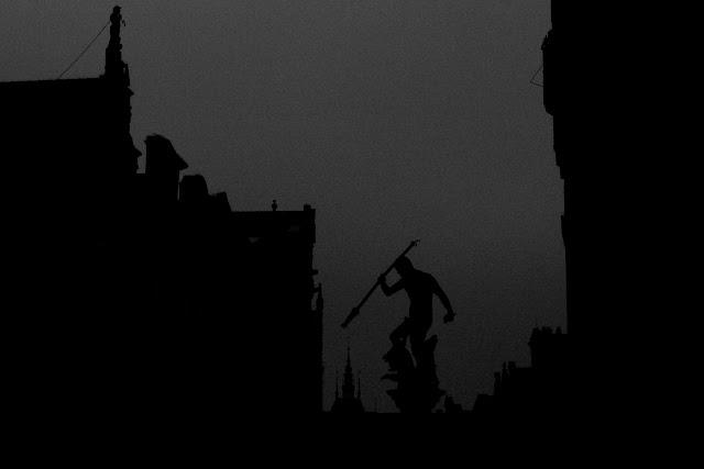 Koncepcyjna fotografia krajobrazu. Piktorialny obraz miasta. Gdańsk. fot. Łukasz Cyrus