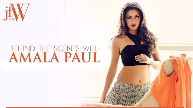 Amala Paul JFW Magazine Hot photoshoot 2017