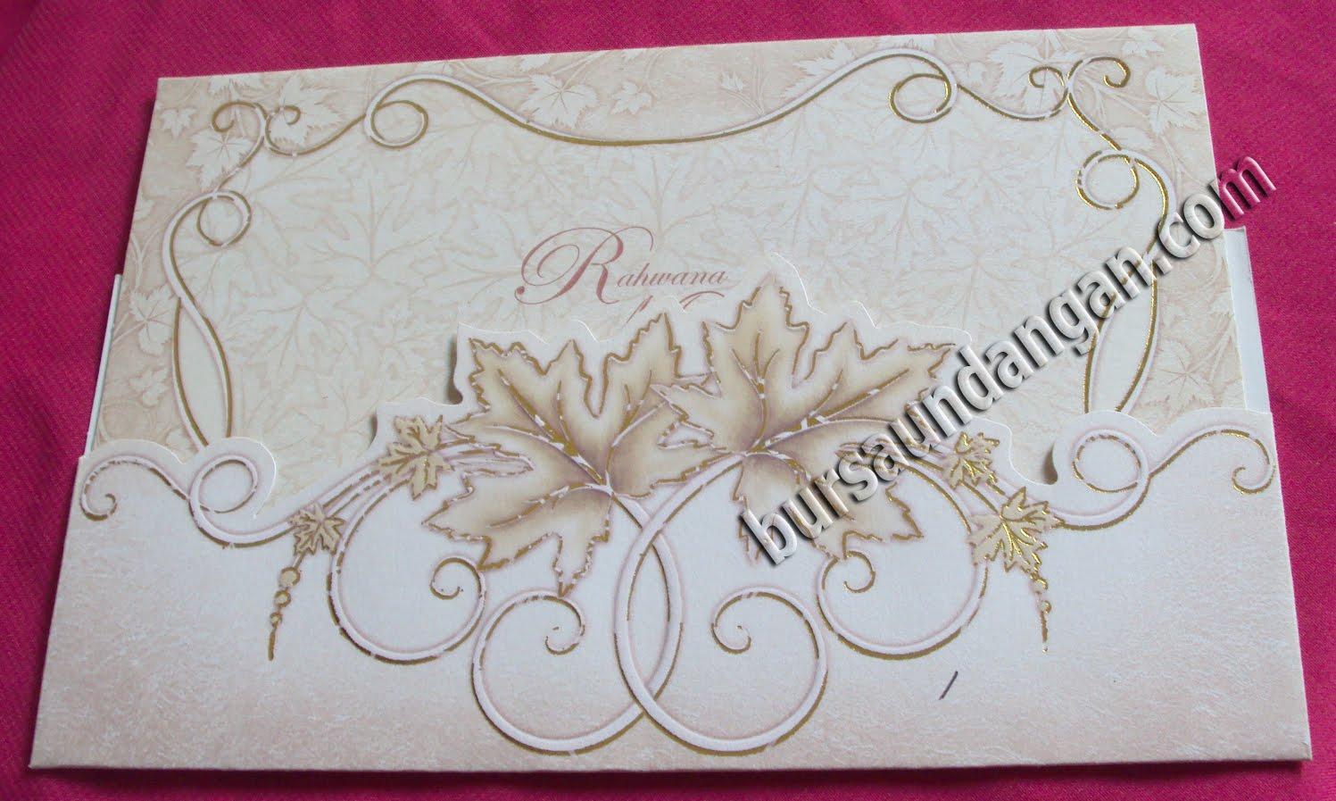 Undangan Pernikahan Model Kartu Undangan Blanko Kartu Undangan