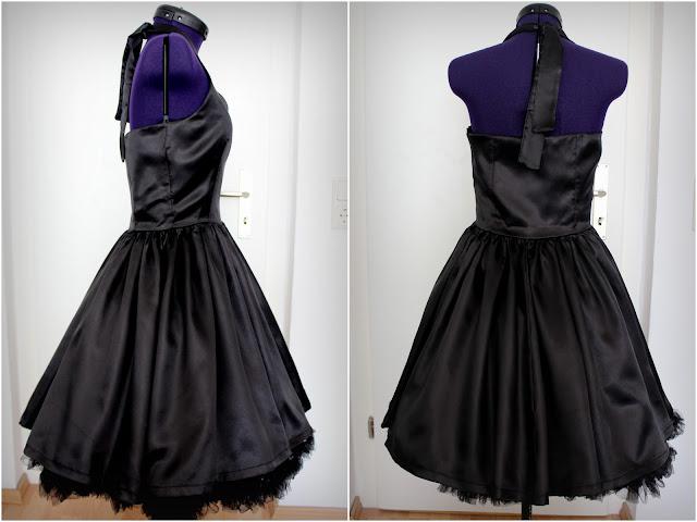 Kleid aus satin nahen