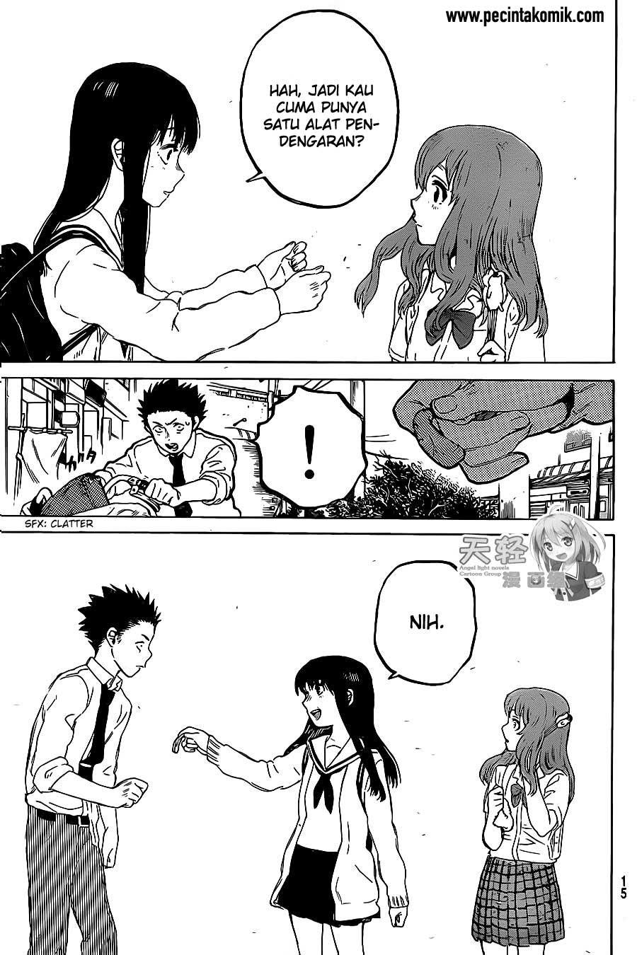 Koe no Katachi Chapter 21-7