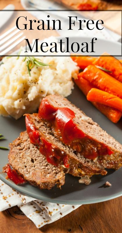 Grain Free Meatloaf - My Favorite Paleo Dinners :: OrganizingMadeFun.com