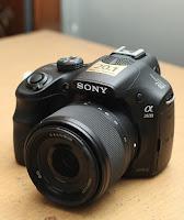 Jual Sony Alpha a3500 Bekas SC Rendah